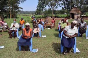 The Water Project: Malekha West Community, Soita Spring -  Handwashing Training