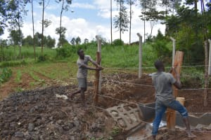 The Water Project: Malanga Community, Malava Housing Spring -  Fencing