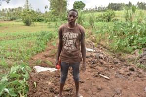 The Water Project: Malanga Community, Malava Housing Spring -  Davis