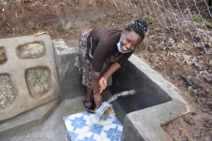 The Water Project: Malanga Community, Malava Housing Spring -  Joy Of Clean Water