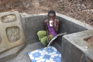 The Water Project: Malanga Community, Malava Housing Spring -  Quench Your Thirst