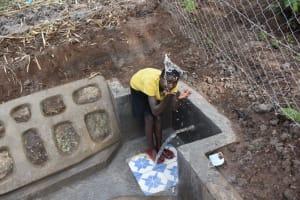 The Water Project: Malanga Community, Malava Housing Spring -  Water Celebrations