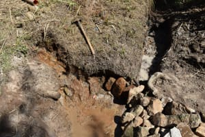 The Water Project: Bukhaywa Community, Violet Inganji Spring -  Spring Eyes