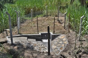 The Water Project: Bukhaywa Community, Violet Inganji Spring -  Complete Spring