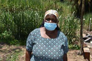 The Water Project: Bukhaywa Community, Violet Inganji Spring -  Leah Muhonja Water User Committee Chair