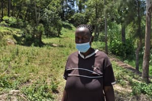 The Water Project: Bukhaywa Community, Violet Inganji Spring -  Rebah Lunganyi Water User Comittee Treasurer