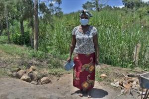 The Water Project: Bukhaywa Community, Violet Inganji Spring -  Violet Inganji Water User Committee Secretary