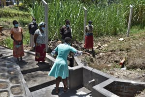 The Water Project: Bukhaywa Community, Violet Inganji Spring -  Explaining Spring Parts And Their Functions