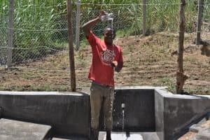 The Water Project: Bukhaywa Community, Violet Inganji Spring -  Water Celebrations