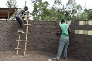 The Water Project: Friends School Manguliro Secondary -  Interior Plaster Works