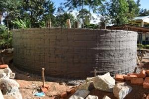 The Water Project: Friends School Manguliro Secondary -  Plaster Underway
