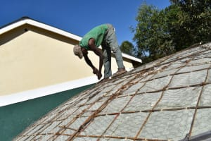 The Water Project: Friends School Manguliro Secondary -  Working On Dome Reinforcements