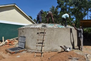 The Water Project: Friends School Manguliro Secondary -  Dome Fitting