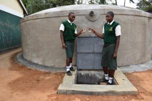 The Water Project: Friends School Manguliro Secondary -  Cheers