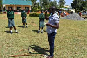The Water Project: Friends School Manguliro Secondary -  Dental Hygiene Trainng
