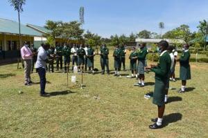 The Water Project: Friends School Manguliro Secondary -  Following Ten Steps Of Hand Washing