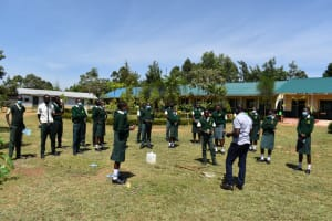 The Water Project: Friends School Manguliro Secondary -  Ongoing Practical Sessions