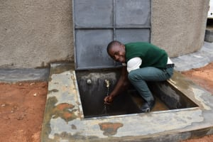 The Water Project: Friends School Manguliro Secondary -  Enjoying Clean Water