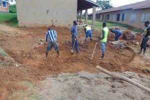 The Water Project: St. Kizito Kimarani Primary School -  Excavation
