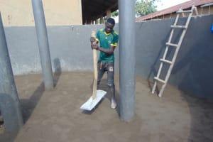 The Water Project: St. Kizito Kimarani Primary School -  Laying The Floor