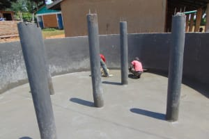 The Water Project: St. Kizito Kimarani Primary School -  Plaster Work On The Floor