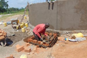 The Water Project: St. Kizito Kimarani Primary School -  Drawing Point Construction