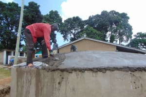 The Water Project: St. Kizito Kimarani Primary School -  Dome Setting