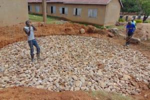 The Water Project: St. Kizito Kimarani Primary School -  Adding Wire Reinforcement