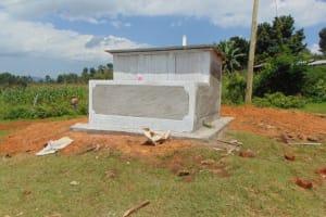 The Water Project: St. Kizito Kimarani Primary School -  Complete Latrine