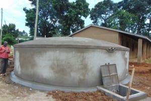The Water Project: St. Kizito Kimarani Primary School -  Complete Tank