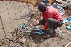The Water Project: St. Kizito Kimarani Primary School -  Setting The Tap System Into Place