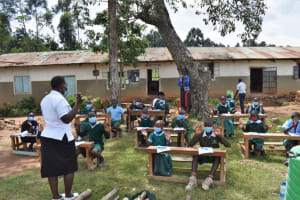 The Water Project: St. Kizito Kimarani Primary School -  Contactless Greetings To Be Used