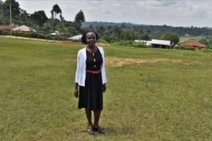 The Water Project: St. Kizito Kimarani Primary School -  Mrs Sally Lingori