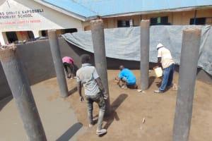 The Water Project: Kapsegeli KAG Primary School -  Plastering The Floor