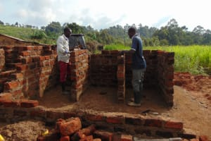 The Water Project: Kapsegeli KAG Primary School -  Raising The Wall