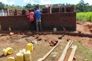 The Water Project: Kapsegeli KAG Primary School -  Fixing The Door Frames