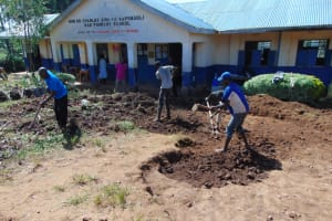 The Water Project: Kapsegeli KAG Primary School -  Excavation
