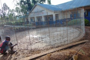 The Water Project: Kapsegeli KAG Primary School -  Brc Wire For Walls