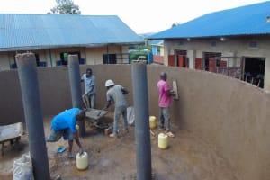 The Water Project: Kapsegeli KAG Primary School -  Plaster Works Inside