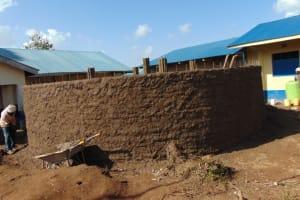 The Water Project: Kapsegeli KAG Primary School -  Outside Plastering