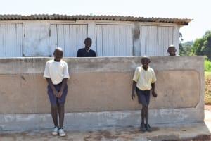 The Water Project: Kapsegeli KAG Primary School -  Boys Latrines