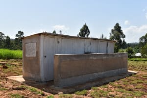 The Water Project: Kapsegeli KAG Primary School -  Completed Latrines