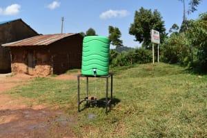 The Water Project: Kapsegeli KAG Primary School -  Handwashing Station