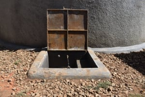 The Water Project: Kapsegeli KAG Primary School -  Running Water At The Tank
