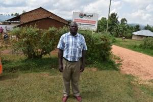 The Water Project: Kapsegeli KAG Primary School -  Teacher Justus Mambe