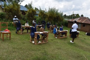 The Water Project: Kapsegeli KAG Primary School -  Training In Session