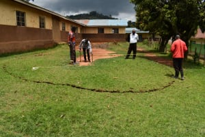 The Water Project: Gimengwa Primary School -  Site Measurement