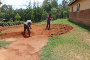 The Water Project: Gimengwa Primary School -  Excavation