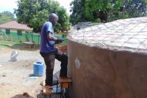 The Water Project: Gimengwa Primary School -  Dome Setting