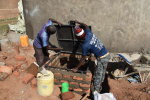 The Water Project: Gimengwa Primary School -  Drawing Point Construction